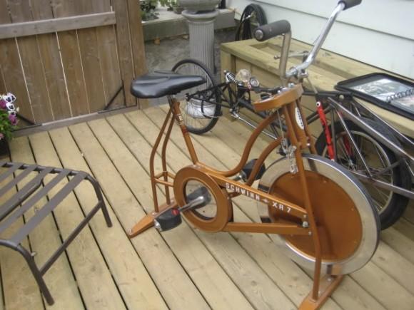Как сделать из велосипеда велотренажер своими руками 66