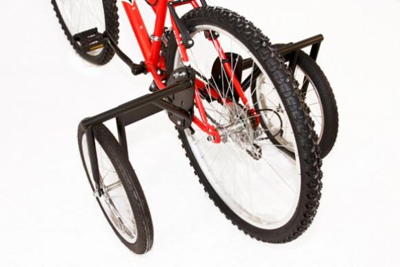 Колесики боковые для детского велосипеда своими руками