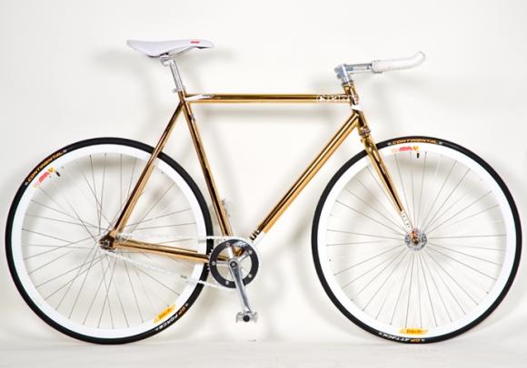 Celebrity Gold Bike
