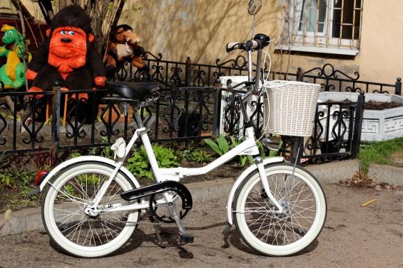 Своими руками для велосипеда аист